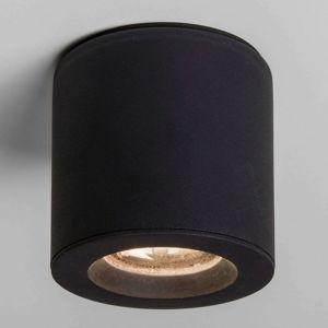 Astro Kos – stropní bodové osvětlení, černá, IP65