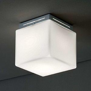 Stropní světlo Cubis, chrom
