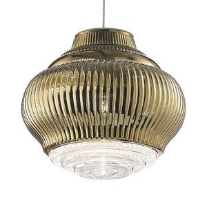 Závěsné světlo Bonnie 130 cm antická zlatá