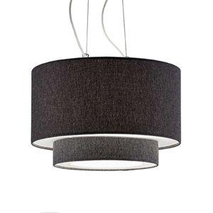 Závěsné světlo Morfeo textilní stínidlo