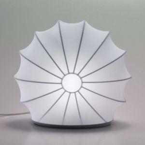 Axolight Muse stolní lampa bílá, 33cm vysoká