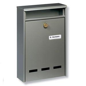 Standardní poštovní schránka WISMAR B5, hnědá