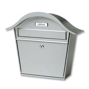 Stříbrná poštovní schránka Holiday 5842 z oceli