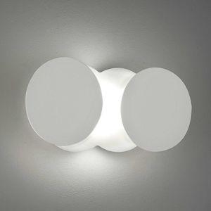 Proměnlivé LED nástěnné světlo Nuvola, bílé