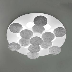 Se stříbrnou fólií - LED stropní svítidlo Nuvola