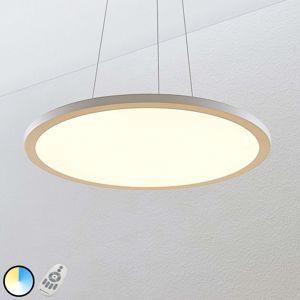 Závěsné LED světlo Tess, 2700-6200K, 60 cm, bílé