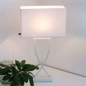 By Rydéns Omega stolní lampa, bílá, 52 cm vysoká