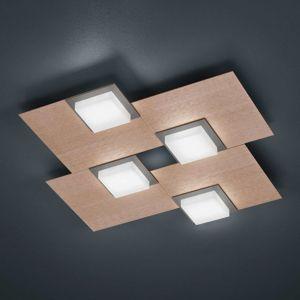 BANKAMP Quadro stropní svítidlo 32 W růžovo-zlatá