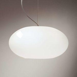 Casablanca Aih - závěsné světlo 28 cm bílé lesklé