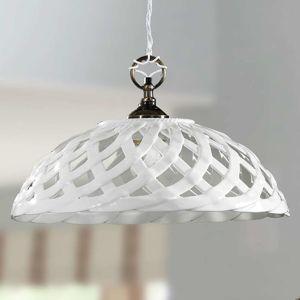 Závěsné světlo Emanuel keramika Ø 42 cm