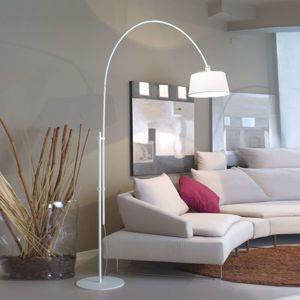 Rise - vyložené obloukové svítidlo bílé