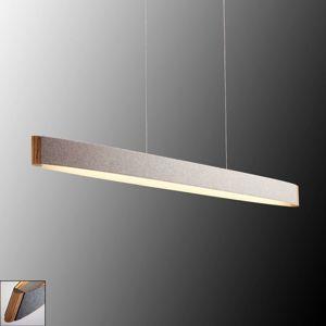 Zep 13 závěsné LED svítidlo, plsť