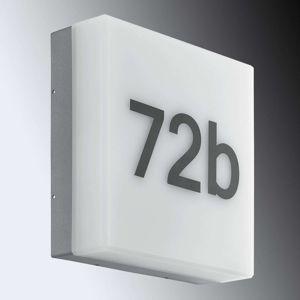 Nadčasové LED domovní číslo Cornale se senzorem
