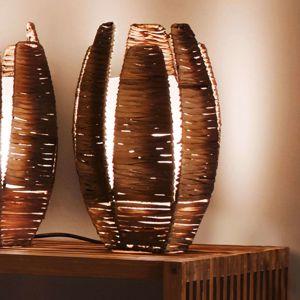 Přírodní stolní lampa MONGU