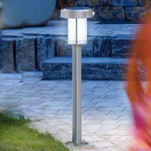 Ancona – solární LED lampa z nerezové oceli