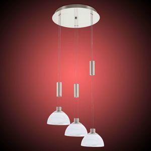 Třížárovkové LED závěsné světlo Montefio