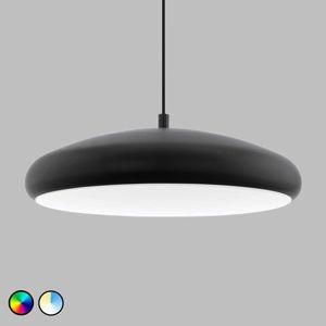 EGLO connect Riodeva-C LED závěsné světlo černé