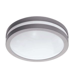 EGLO connect Locana-C LED venk. světlo stříbrné