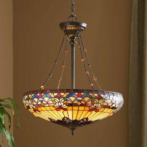 Závěsné světlo Belle Fleur bohaté na detaily