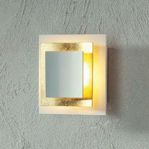 Escale Pages - pozlacené LED nástěnné světlo 14 cm
