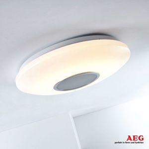 AEG LED stropní světlo Bailando - světlo a zvuk