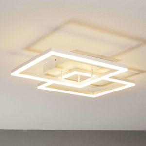 Moderní stropní LED svítidlo Bard v bílé barvě