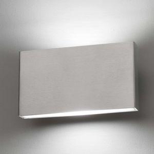 LED nástěnné světlo z nerezové oceli Kaula, IP44