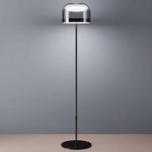 Fontana Arte Equatore stojací lampa LED chrom135cm