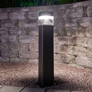 Černé LED svítidlo pro cesty Ester 800, odolné