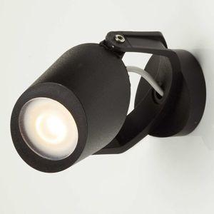 Venkovní nástěnný reflektor Minitommy, černá