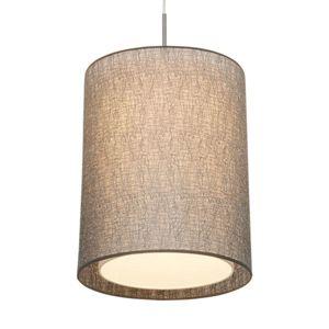 Závěsné světlo Gaas s textilním stínidlem
