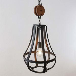 Lindby Weston závěsné světlo z kovu