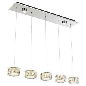 Amur - LED závěsné svítidlo 5bod. + 2 spoty