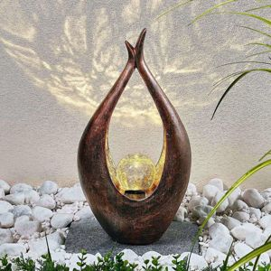 Solární LED dekorační svítidlo Adem, 50cm