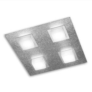 GROSSMANN Basic LED stropní svítidlo 4zdr hliník
