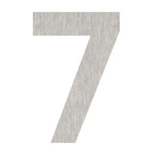 Domovní čísla číslice 7