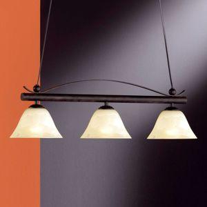 Závěsné svítidlo DANA rustikální styl 3 světla