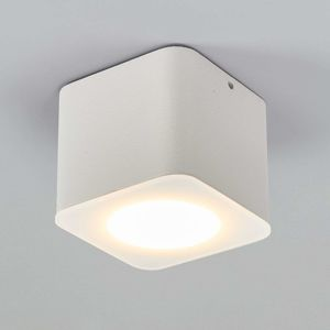 Helestra Oso stropní LED světlo, hranaté, bílý mat