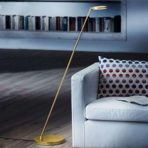 Holtkötter Plano S - stojací lampa LED, mosaz