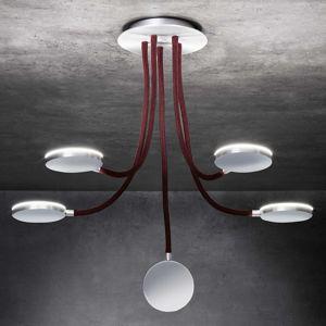 Holtkötter Flex D5 LED stropní svítidlo červené 5z