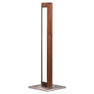 HerzBlut Leonora stolní lampa LED ořech