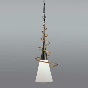 Závěsné světlo BONITO rezavé antické 75 cm