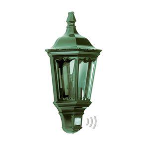 Praktické venkovní nástěnné svítidlo Ancona zelené