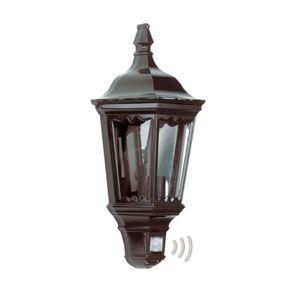 Praktické venkovní nástěnné svítidlo Ancona černé