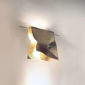 Knikerboker Stendimi LED nástěnné světlo pozlátko