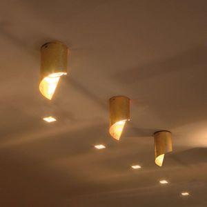 Knikerboker Hué LED stropní svítidlo 8x15cm pozl