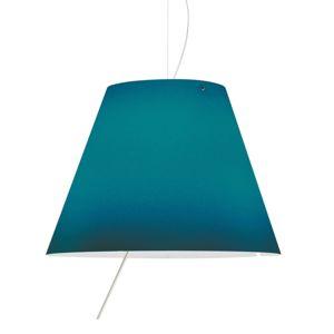 Luceplan Costanza - LED závěsné světlo modré