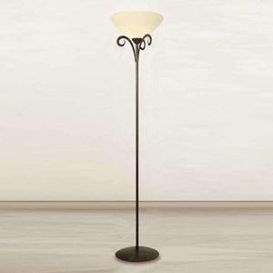 Stojací lampa Luca ve venkovském stylu