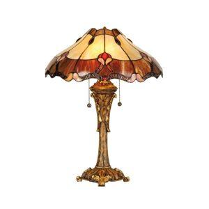 Stolní lampa Cambria v Tiffany stylu