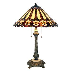 Stolní lampa Cecilia v Tiffany stylu